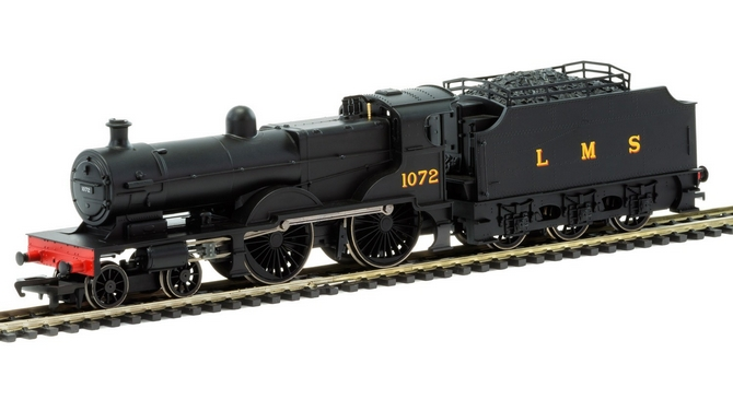 RailRoad LMS 4-4-0 Compound with Fowler Tender