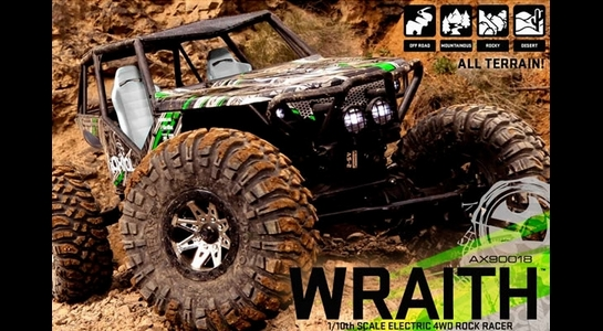 AXIAL WRAITH RTR 4WD ROCK RACER