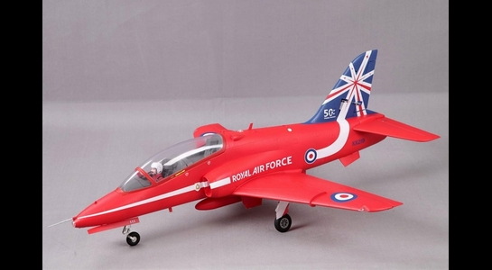 FMS 1042MM RED BAE HAWK 80MM EDF ARTF