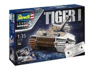 Revell 1/35 Tiger I 75 Years Model Kit Gift Set
